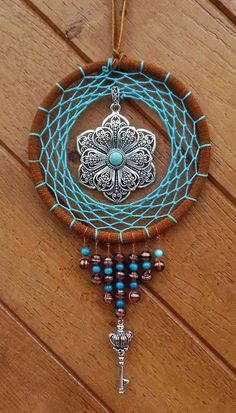 Stunning Dream Catcher Ideas to get only Pleasant Dreams Drea. - Stunning Dream Catcher Ideas to get only Pleasant Dreams Dream catcher, Dream ca - Dream Catcher Patterns, Dream Catcher Art, Sun Catcher, Making Dream Catchers, Dream Catcher Materials, Dream Catcher Jewelry, Dreamcatcher Crochet, Diy Jewelry, Jewelry Making