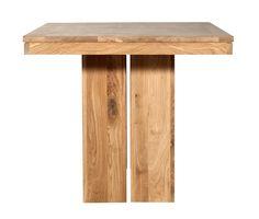 Double Oak Dining Table