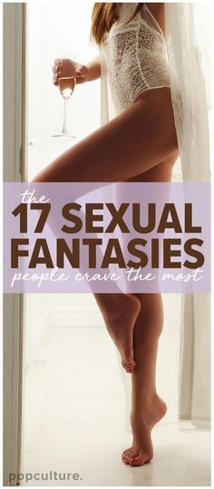 17 People Describe the NSFW Sexual Fantasies They Crave Most. Popculture.com #love #NSWF #sexualfantasy #sex #fantasy #relationship #roleplay #sextips from @womanista