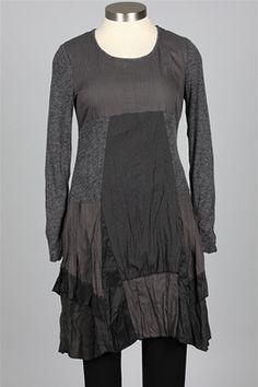 Boo Radley - Beat So True Dress - Grey - Skirts & Dresses at Fawbush's
