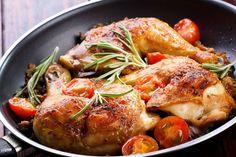 Geroosterde kip in Griekse marinade met venkel, sinaasappel en ovenaardappels ( in de tas voor 4 dagen) #bio #haarlem