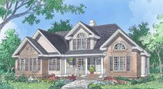 The Stoneboro House Plans First Floor Plan   House Plans By Designs Direct.