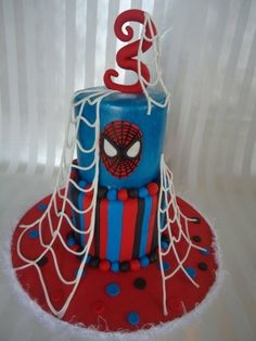Spidey! By YOUnique_Cakes