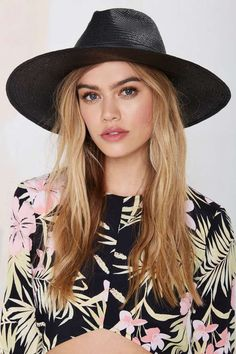 Brianni Straw Panama Hat - Accessories | Hair + Hats
