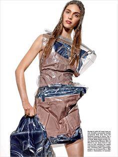 Hedvig Palm for Vogue Italia by Richard Burbridge