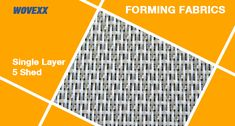 Synthetic Single Layer Forming Fabrics, Forming Wires for Paper making.
