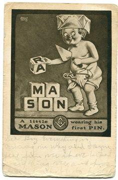 Artist Signed A Little Mason August Hufaf