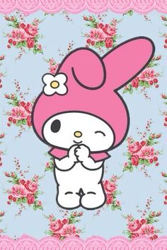 my melody so cute My Melody Wallpaper, Sanrio Wallpaper, Hello Kitty My Melody, Sanrio Hello Kitty, Badtz Maru, Keroppi, Hello Kitty Accessories, Hello Kitty Pictures, Sanrio Characters