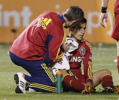 Seattle Sounders v Real Salt Lake - Western Conference Semifinals - injury courtesy of Tiffert