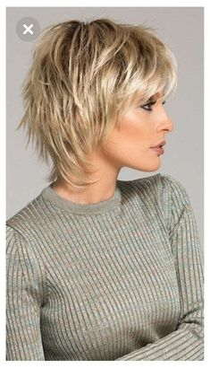 High Ponytail Hairstyles, Short Shag Hairstyles, Popular Short Hairstyles, Straight Hairstyles, Short Haircuts, Haircut Short, Shaggy Hairstyles, Sassy Haircuts, Tomboy Hairstyles