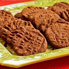 maybe  Fifteen ideas for low-sugar (or sugar-free) cookies; many are also gluten-free.  [Kalyn's Kitchen]