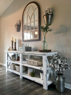 Create a luxurious and unique decorations for your interior.like wallcolor Create a luxurious and unique decorations for your interior….like wallcolor Create a luxurious and unique decorations for your interior….like wallcolor Diy Home Decor Rustic, Farmhouse Decor, Modern Farmhouse, Rustic Entryway, Farmhouse Style, Farmhouse Ideas, Entryway Ideas, Coastal Decor, Rustic Wood
