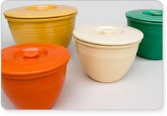 Fiestaware Mixing Bowl Lid | Rare Fiesta Pottery