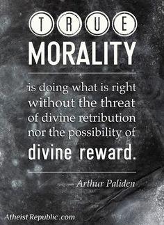 true morality arthur paliden