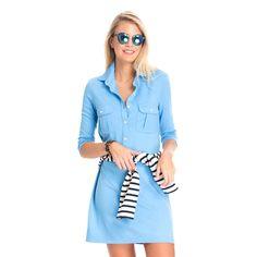 French Blue Winpenny Dress