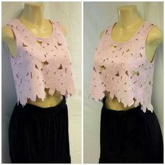 "LA HEARTS Pink Embroidered Floral Crop Top M LA HEARTS Pink with a smidgen of lavender,  100% open weave Embroidered Floral Crop Top size M, box style fit, scoop neckline front and back, machine washable, 100% polyester,  17"" length at longest flower petal, 11"" length at shortest flower petal, 18"" bust laying flat LA Hearts Tops Crop Tops"