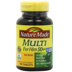 Now available at our store http://tradinghealth.com/products/multi-for-him-50-multiple-vitamin-and-mineral-supplement-tablets-90-count-free-shipping?utm_campaign=social_autopilot&utm_source=pin&utm_medium=pin