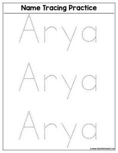the 25 best name tracing worksheets ideas on pinterest tracing names printable name tracing. Black Bedroom Furniture Sets. Home Design Ideas