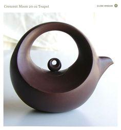 Crescent Moon 20 oz Teapot | Chinese Teapots | Shop DapperFrog.com