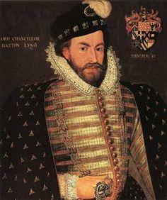 Sir Christopher Hatton, 1589  (Unknown Artist)   National Portrait Gallery, London