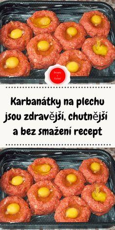 Czech Recipes, Cantaloupe, Peach, Fruit, Cooking, Menu, Food, Diet, Ground Meat