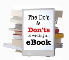 What do you need to know to write an eBook?  Visit me for my series and find out!