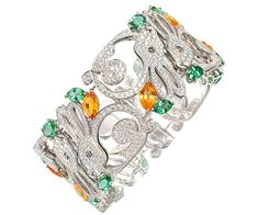 """Chopard - Bracelet Lapins - Haute Joaillerie """"Le Monde des Animaux"""""""
