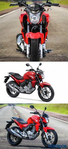 Honda Motorcycles & ATVs reveals CB Twister 250 For Brazilian Market. #honda #motorcycle #bikesmyfirstlove