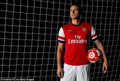 Arsenal boss Arsene Wenger has hailed Olivier Giroud after unveiling the striker. The France star who arrives from Montpellier, has joined German Lukas Podolski at the Emirates in a new-look attacking line-up. World Football, Football Team, Lukas Podolski, Van Persie, Summer Signs, North London, World Of Sports, Arsenal Fc, Montpellier