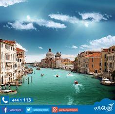 Venedik acilebilet.com'da. Uçak bileti satış siteniz.