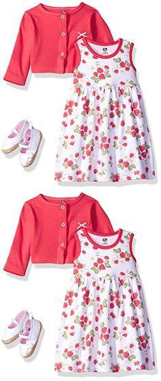 Hudson Baby Girls' 55206L-Strawberries_6-9M, Strawberries, 6-9 Months