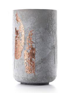 leManoosh, http://www.menschmadedesign.com/concrete-vase-coppe...