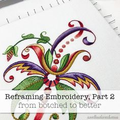 Reframing Embroidery - from botched to better Rose Embroidery, Cross Stitch Embroidery, Machine Embroidery Designs, Embroidery Patterns, Happy Fourth Of July, Brazilian Embroidery, Do It Yourself Crafts, Casket, Craft Tutorials