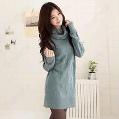 Discount China china wholesale Korean Style Loose Womens Argyle Pattern Long Sleeve Long Sweater [31812] - US$19.99 : DealsChic