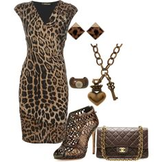 A fashion look from July 2014 featuring Roberto Cavalli dresses, Alexandre Birman sandals and Chanel handbags. Browse and shop related looks.