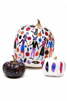 Fashion Pumpkins! 7 Gourds Get Facelifts #refinery29