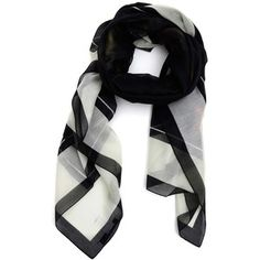 GIVENCHY PRINTED VOILLE SCARF