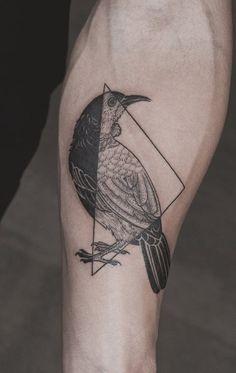 Norse Raven viking tattoo