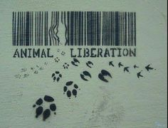 Animal liberation. I'm thinking this would make a great tattoo. (Agreed)