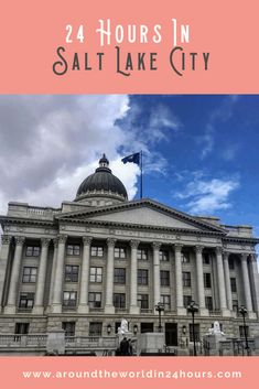 So you want to spend a perfect one day in Salt Lake City itinerary? Join me for a day with the Mormon Tabernacle Choir, funeral potatoes, and Temple Square! Mormon Tabernacle, Tabernacle Choir, Usa Travel Guide, Travel Usa, Travel Tips, Salt City, Salt Lake City Utah, Restaurant History, Beach Trip