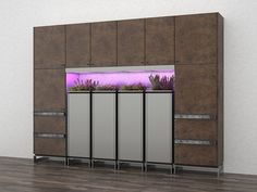 Kitchen Storage Cabinet System with Integrated Herb Planter | Toyo Herb Pot - via http://www.shelterness.com/pictures/toyo-herb-pot-3.jpg