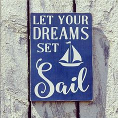 Because life is to short not to. #nautical #inspiration #quote #motivation #sailing #yachting #dreaming #dream #blue #navy #ocean #sea #sailboat #boat #anchor #hönö #seasalt #marissal by marissalcompany