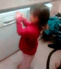 hairstyling done right - funny, hairstyling, animated, gif. Twilight, Parenting Done Right, Parenting Win, Hayden Williams, Best Funny Pictures, Laugh Out Loud, The Funny, Make Me Smile, Funny Jokes