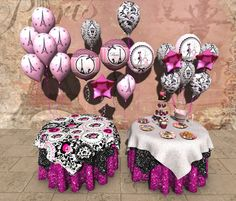 Aphrodite Paris themed French shabby chic party- Ideal bachelorette, baby shower, birthday, rezzday, anniversary & more!