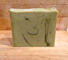 Fresh cucumber juice and Argan oil facial soap bar........with a wink and a smile :))