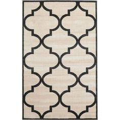 Charlton Home Moore Beige Area Rug Rug Size: 5' x 8'