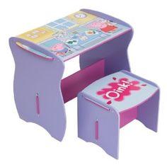 Peppa Pig Mdf Desk And Stool