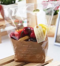 Aliexpress.com : Buy Cute bread cookies and bread plastic bag,transparent bag,food packing bags  18*23cm(ss 6218) from Reliable packing plas...