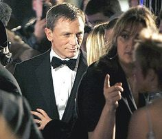 James Bond premier Daniel Craig actor