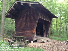 William Penn Shelter on the Appalachian Trail
